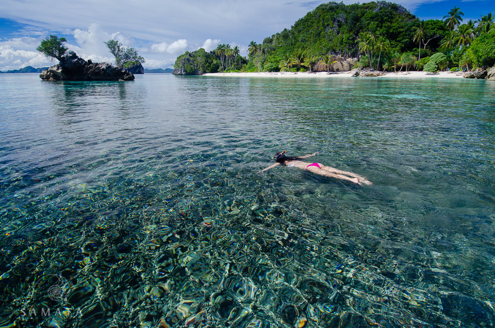 Snorkelling the Beaches of Raja Ampat