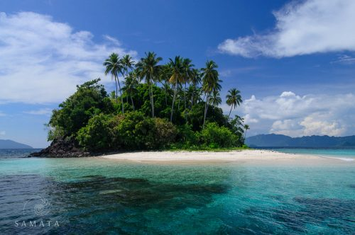 Beaches of Raja Ampat Dampier