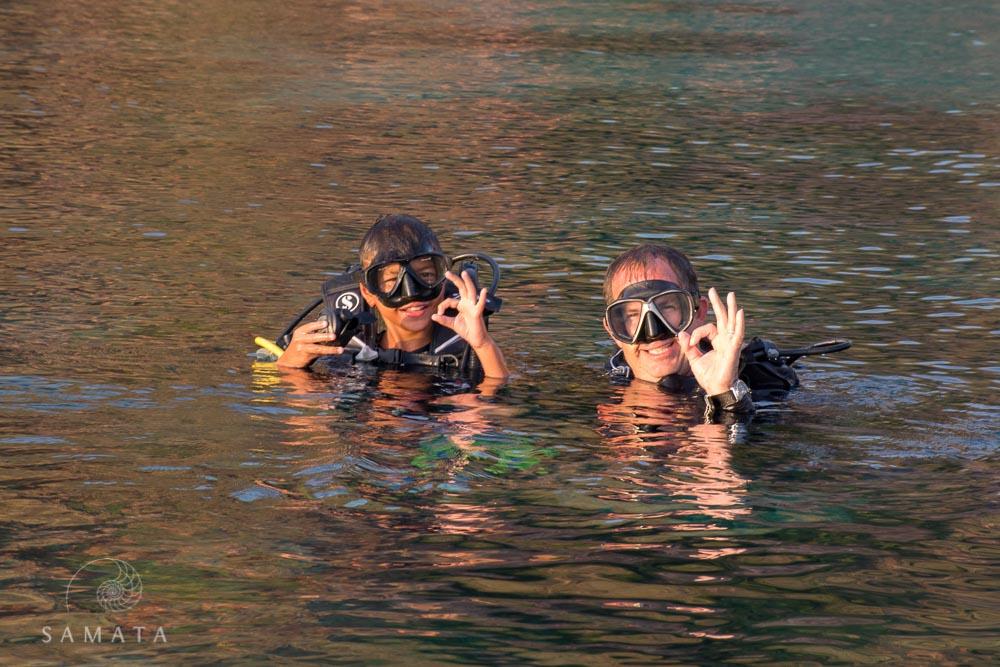 Family Scuba Diving Activity