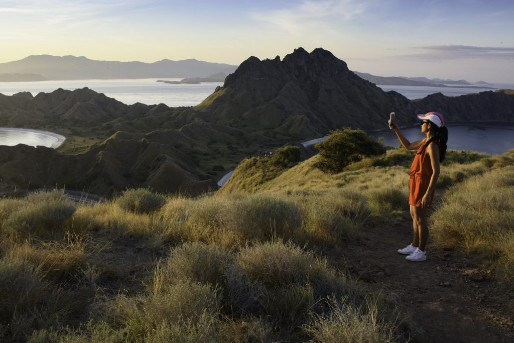 Padar Island Viewpoint at Sunset