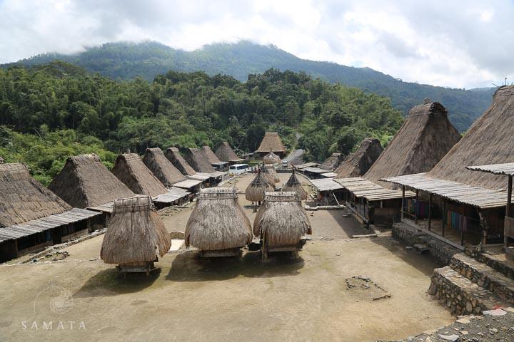 Village in Flores