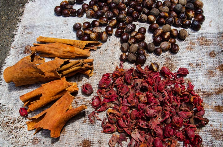 Spices from Banda Islands