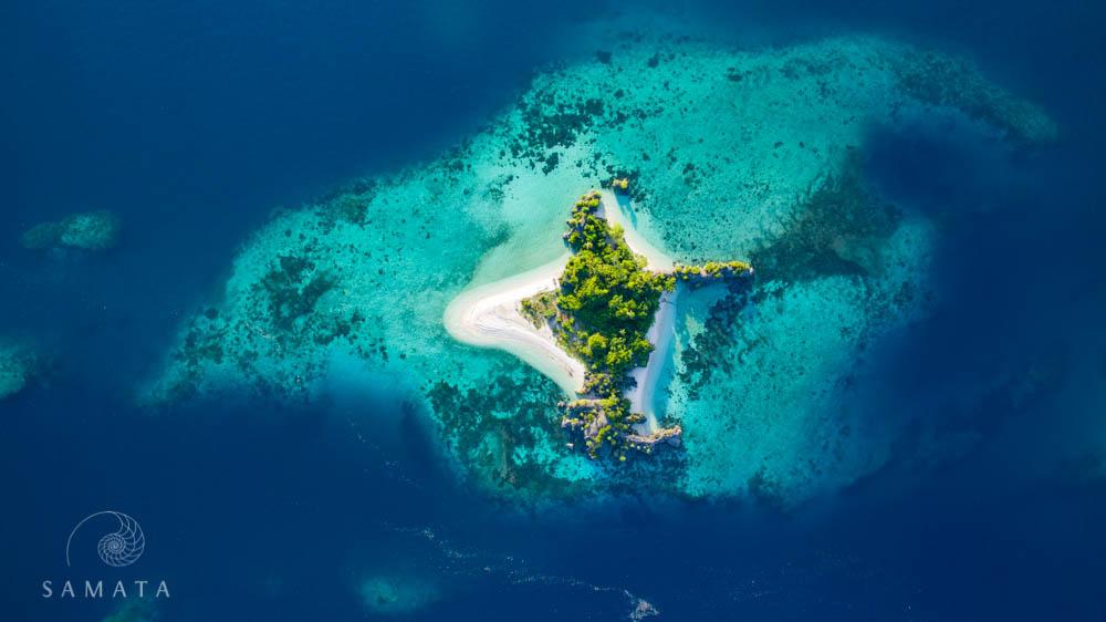 Island with Beaches Raja Ampat