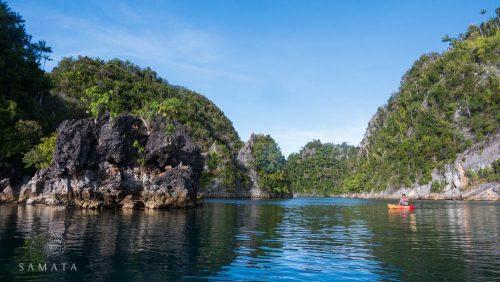 Kayaking in Raja Ampat